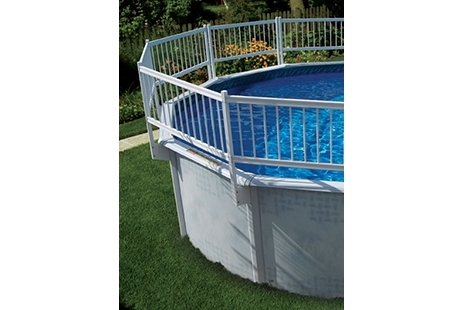 Above Ground Pool Fence Ocean Blue Kit B 310501