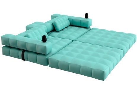 Modul Sofa pigro felice modul air sofa set aquamarine green