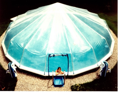 Etonnant Fabrico Sun Dome All Vinyl Pool Dome For 16u0027 Round Doughboy U0026 CaliMar® Pools  | SD1216