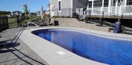 Hydra Oval 18 39 X 36 39 Polymer Wall Inground Pools 58453