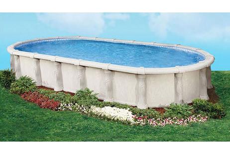 Renaissance 21x41 Oval Resin Ag Pool Standar Package