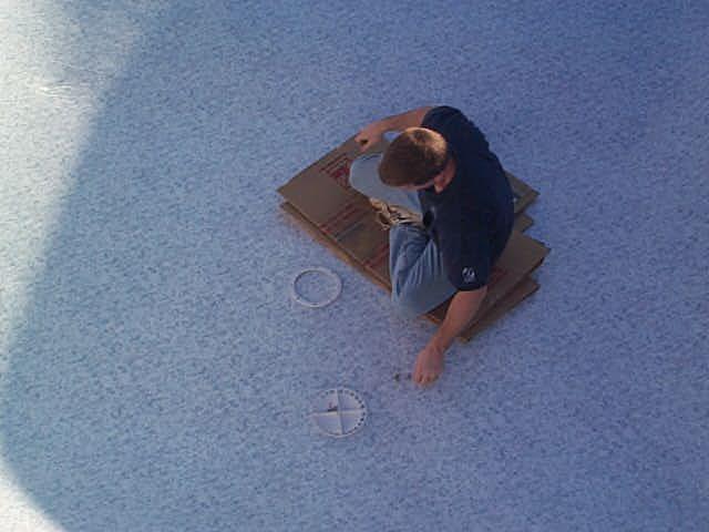 Inground Amp On Ground Pool Construction Vinyl Liner Install