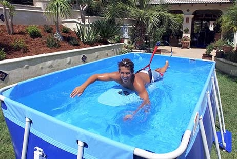 Swim Gymm Portable Excercise Pool Splash A Round Pools